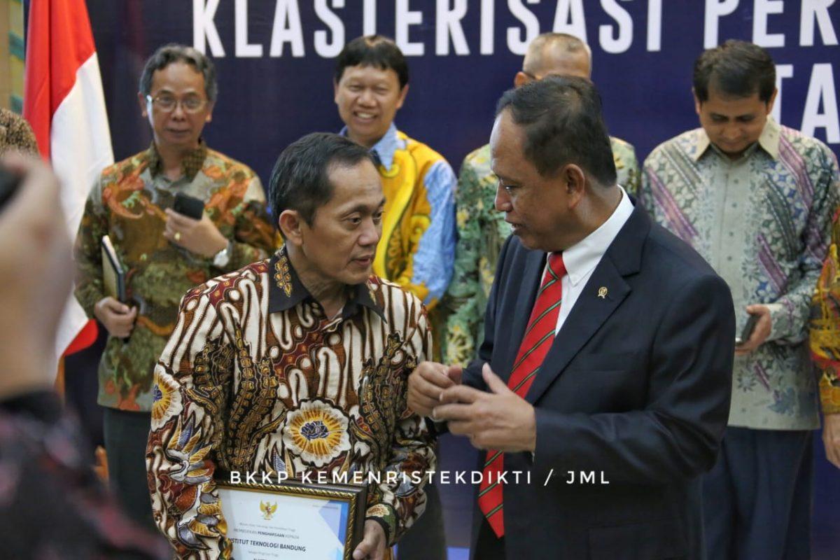 Menristekdikti Umumkan Klasterisasi Perguruan Tinggi Indonesia 2019